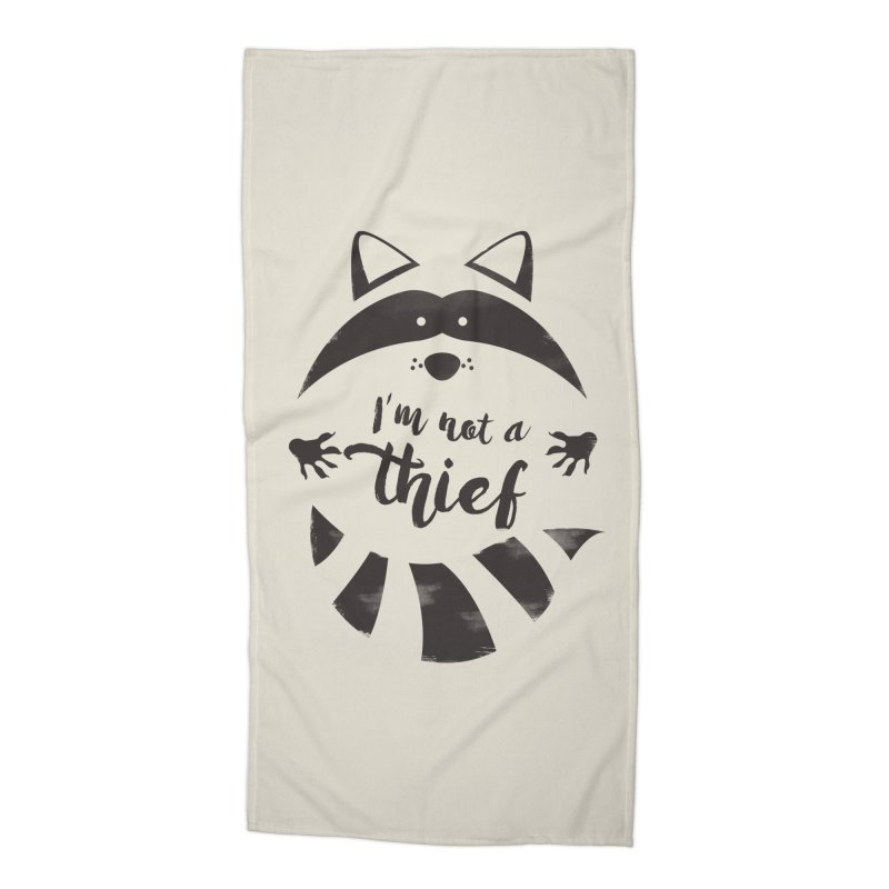 I'm not a thief Accessories Beach Towel by mateusquandt's Artist Shop