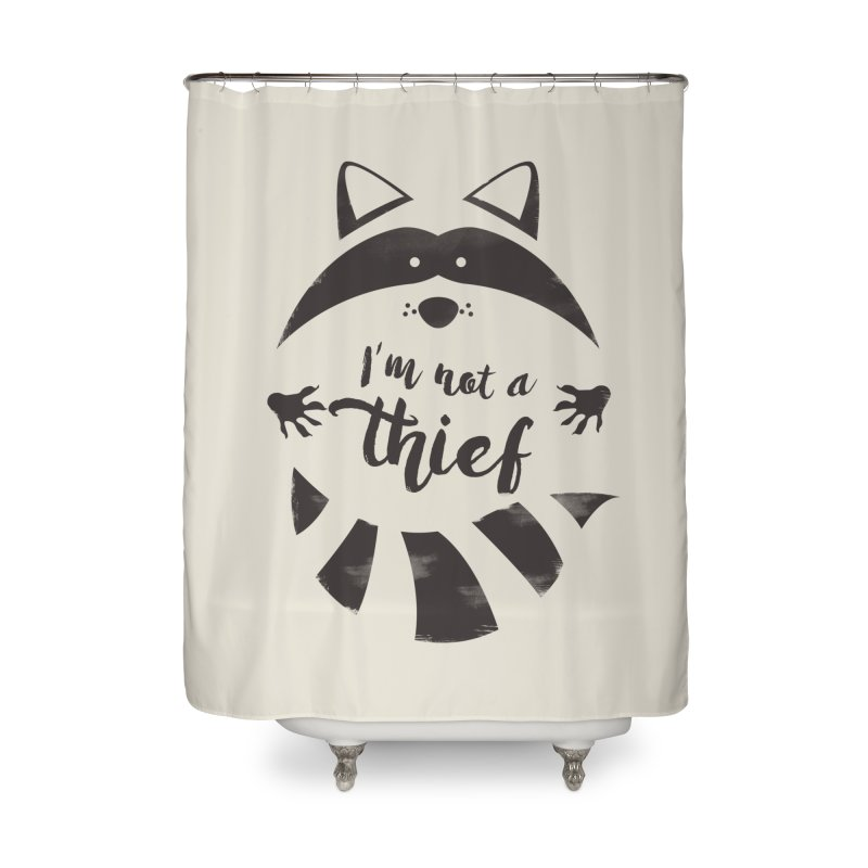 I'm not a thief Home Shower Curtain by mateusquandt's Artist Shop