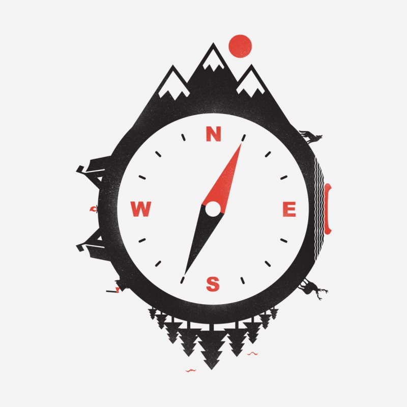 Adventure Compass by mateusquandt's Artist Shop