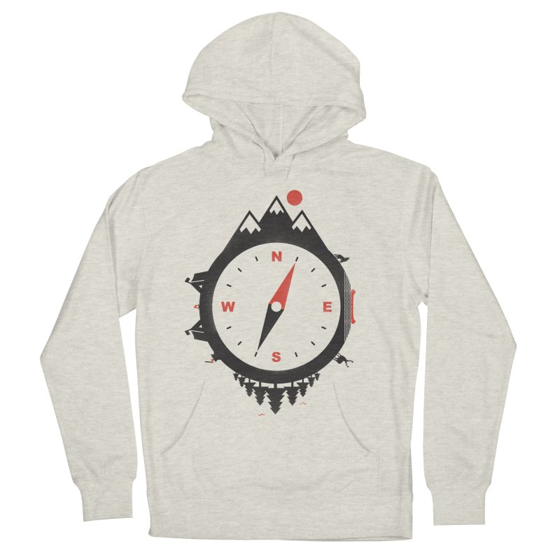 Adventure Compass Women's Pullover Hoody by mateusquandt's Artist Shop