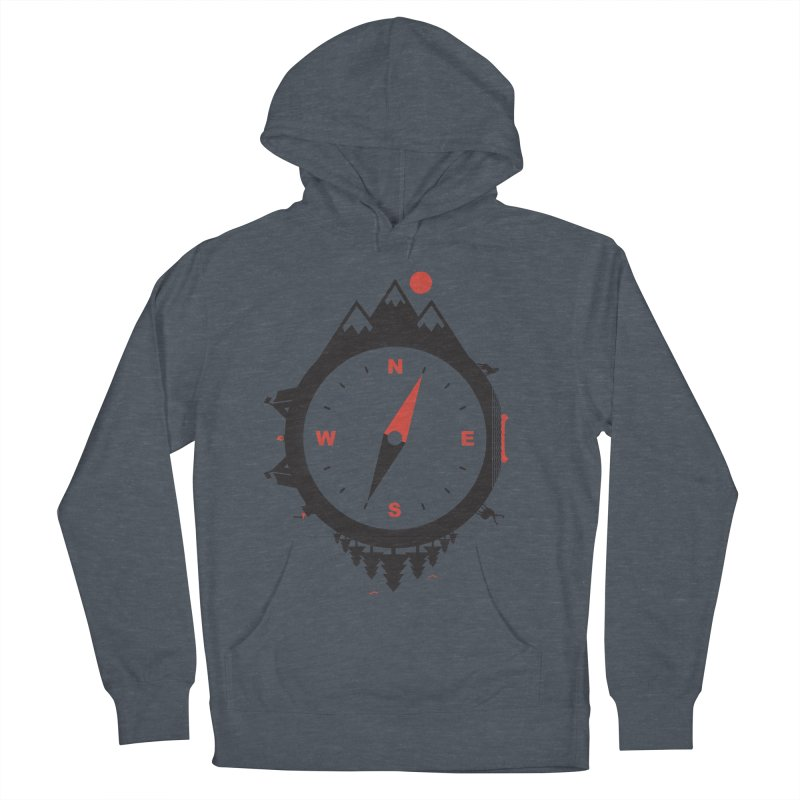 Adventure Compass Men's Pullover Hoody by mateusquandt's Artist Shop