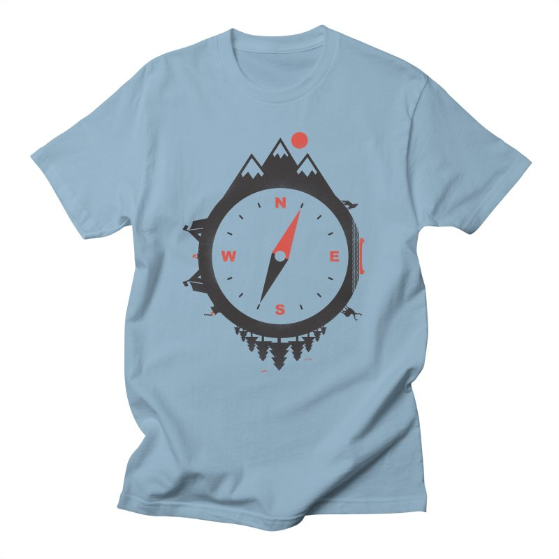 Adventure Compass Men's T-shirt by mateusquandt's Artist Shop