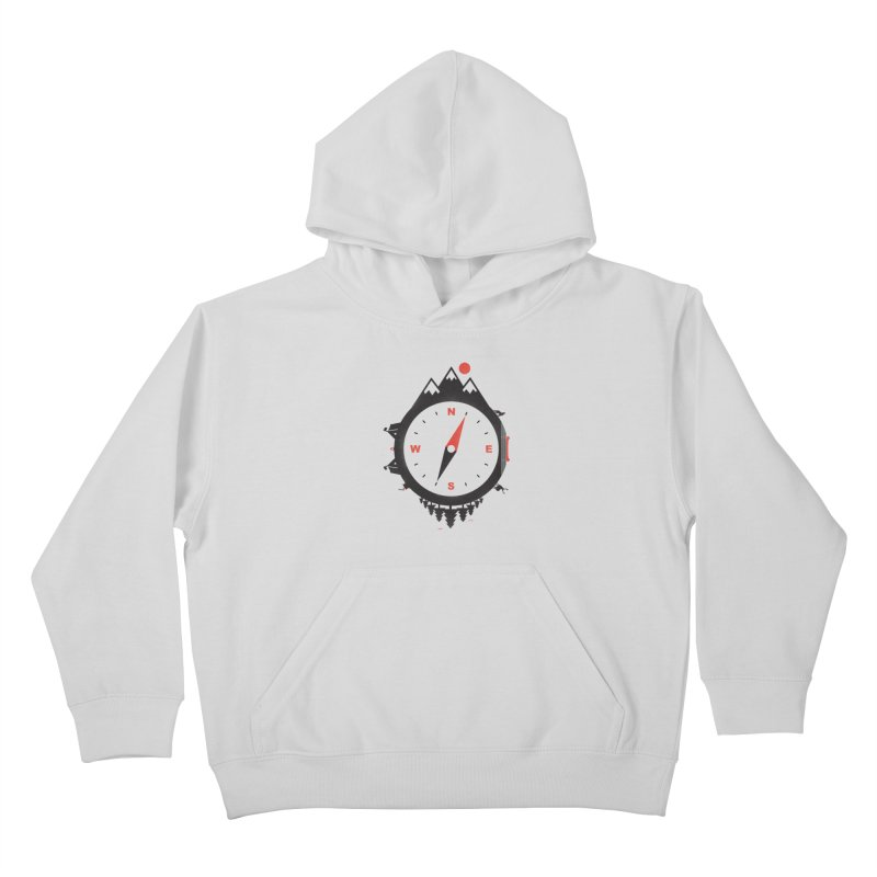 Adventure Compass Kids Pullover Hoody by mateusquandt's Artist Shop