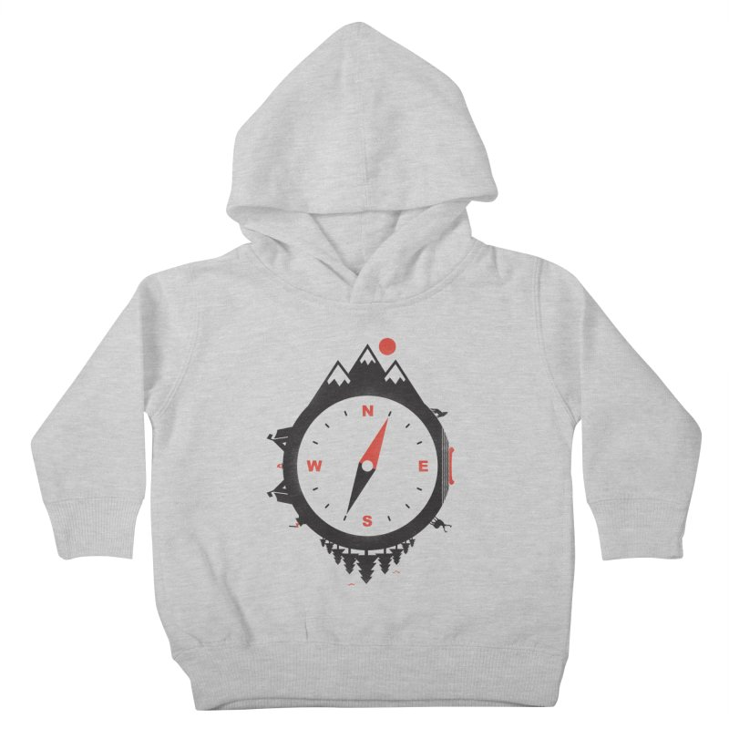 Adventure Compass Kids Toddler Pullover Hoody by mateusquandt's Artist Shop