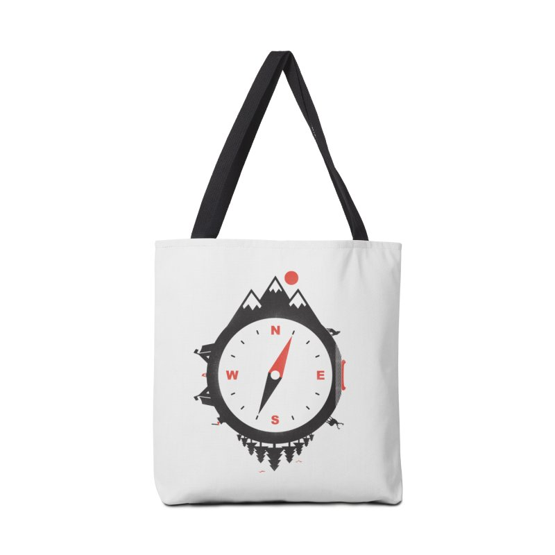 Adventure Compass Accessories Bag by mateusquandt's Artist Shop