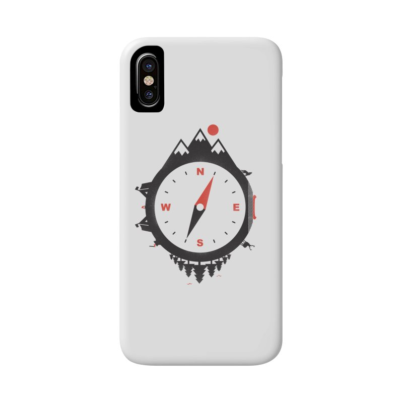 Adventure Compass Accessories Phone Case by mateusquandt's Artist Shop