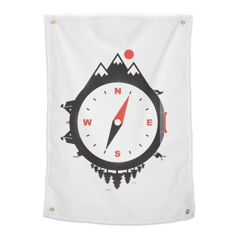 Adventure Compass Home Tapestry by mateusquandt's Artist Shop