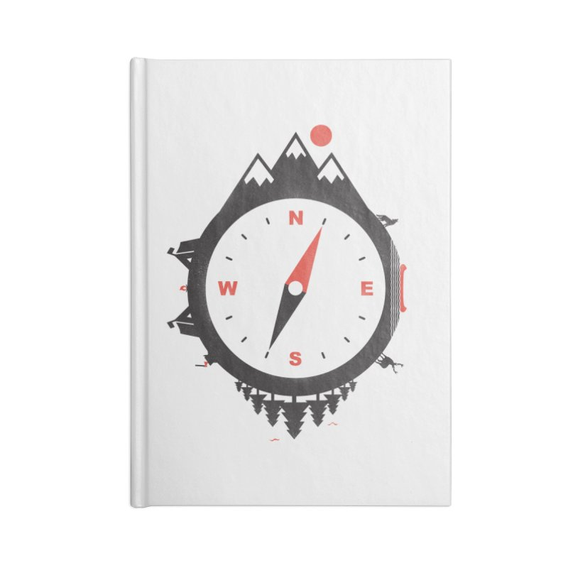 Adventure Compass Accessories Notebook by mateusquandt's Artist Shop