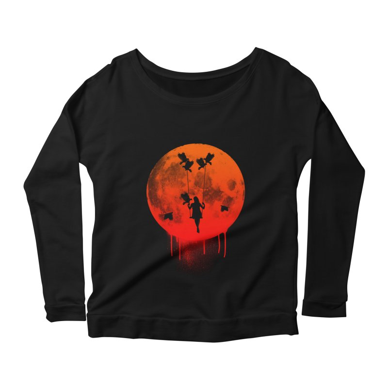The mother of the birds Women's Longsleeve Scoopneck  by mateusquandt's Artist Shop