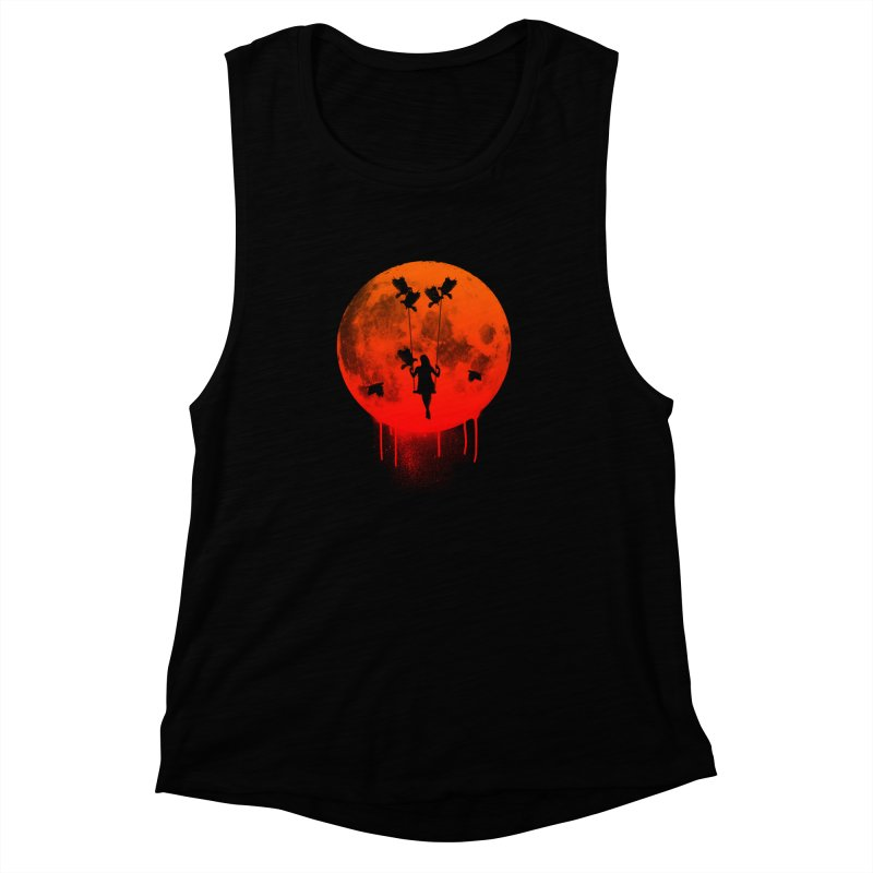 The mother of the birds Women's Muscle Tank by mateusquandt's Artist Shop