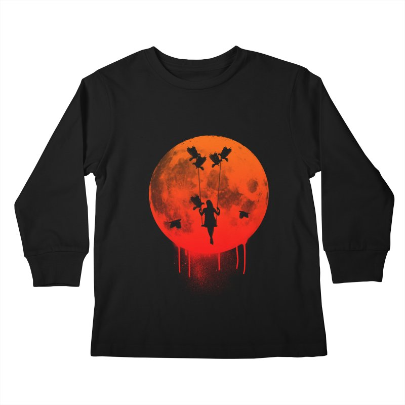 The mother of the birds Kids Longsleeve T-Shirt by mateusquandt's Artist Shop