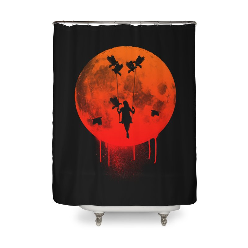 The mother of the birds Home Shower Curtain by mateusquandt's Artist Shop