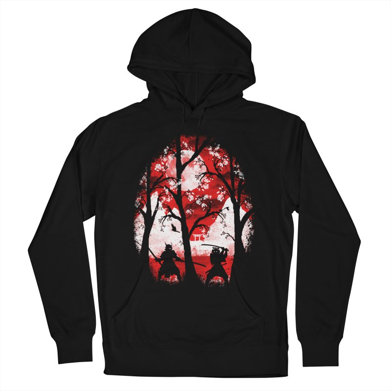 Samurai Battle Women's Pullover Hoody by mateusquandt's Artist Shop