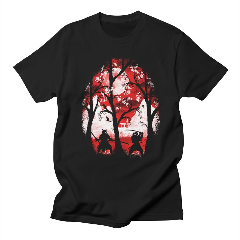 Samurai Battle Women's Unisex T-Shirt by mateusquandt's Artist Shop