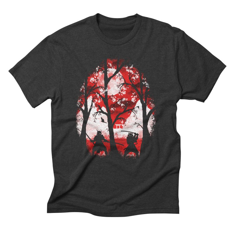 Samurai Battle Men's Triblend T-Shirt by mateusquandt's Artist Shop