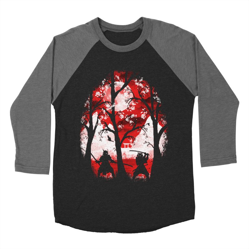 Samurai Battle Women's Baseball Triblend T-Shirt by mateusquandt's Artist Shop