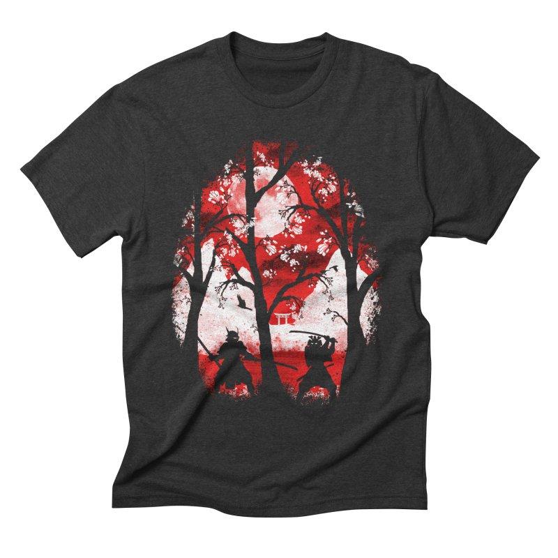 Samurai Battle Men's Triblend T-shirt by mateusquandt's Artist Shop