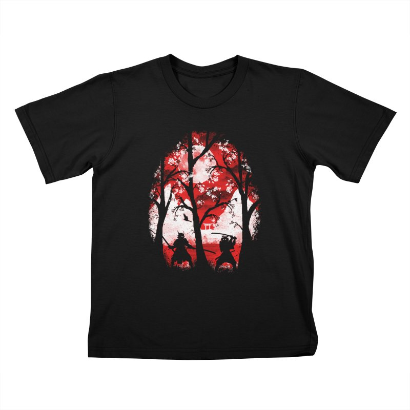 Samurai Battle Kids T-shirt by mateusquandt's Artist Shop