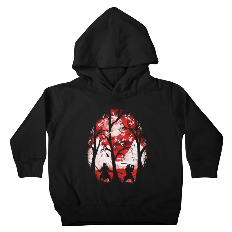 Samurai Battle Kids Toddler Pullover Hoody by mateusquandt's Artist Shop