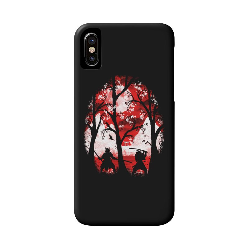 Samurai Battle Accessories Phone Case by mateusquandt's Artist Shop