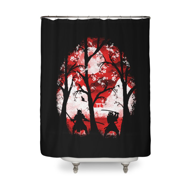 Samurai Battle Home Shower Curtain by mateusquandt's Artist Shop