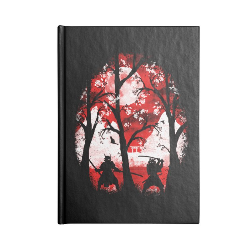 Samurai Battle Accessories Notebook by mateusquandt's Artist Shop