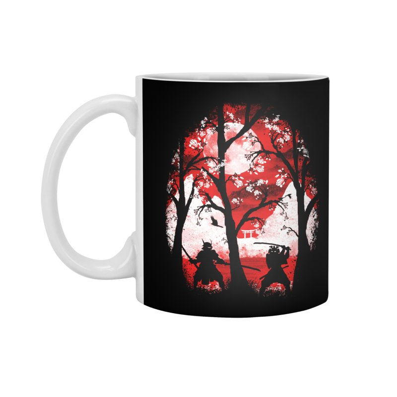 Samurai Battle Accessories Mug by mateusquandt's Artist Shop