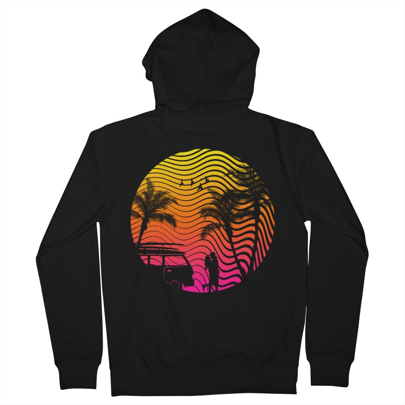 Summer Love Men's Zip-Up Hoody by mateusquandt's Artist Shop