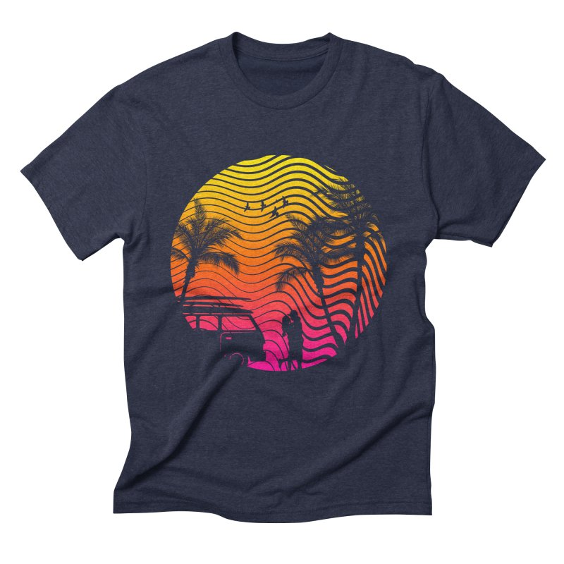 Summer Love Men's Triblend T-Shirt by mateusquandt's Artist Shop