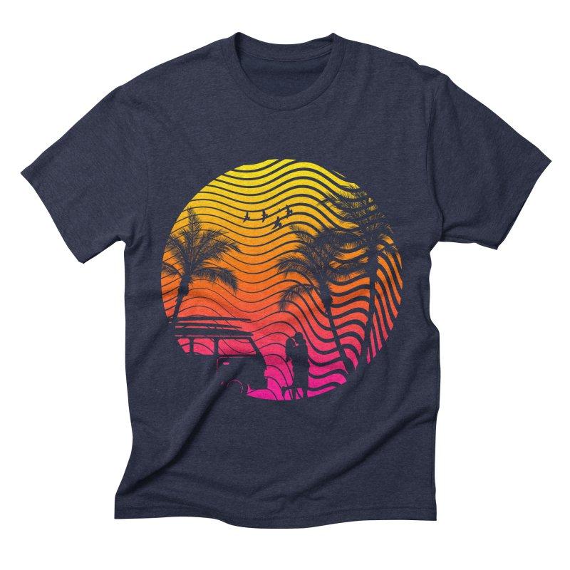 Summer Love Men's Triblend T-shirt by mateusquandt's Artist Shop