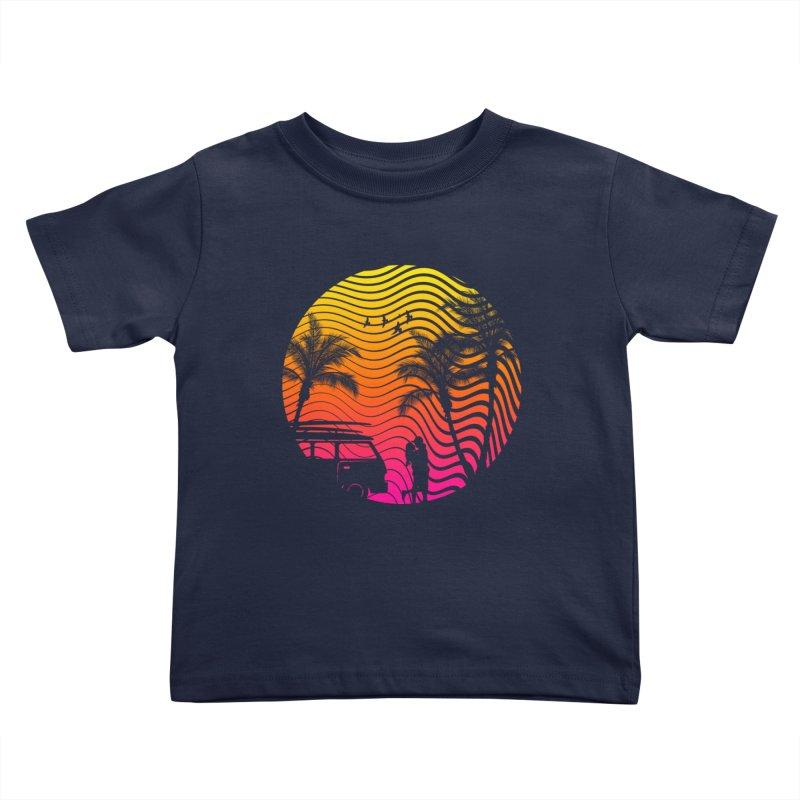 Summer Love Kids Toddler T-Shirt by mateusquandt's Artist Shop