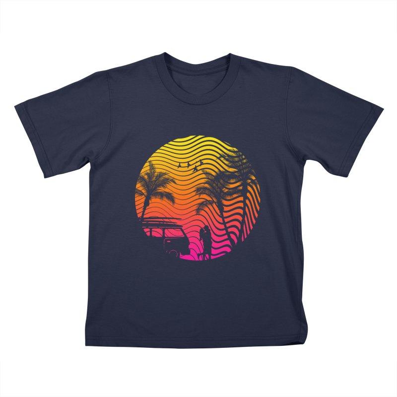 Summer Love Kids T-shirt by mateusquandt's Artist Shop