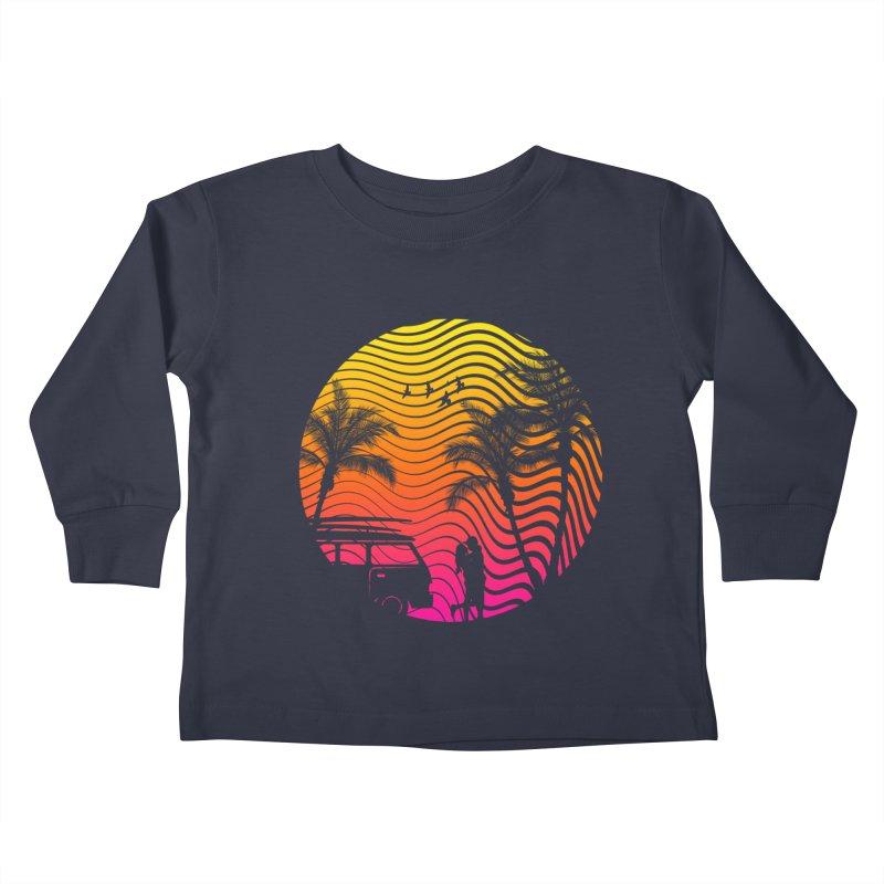 Summer Love Kids Toddler Longsleeve T-Shirt by mateusquandt's Artist Shop