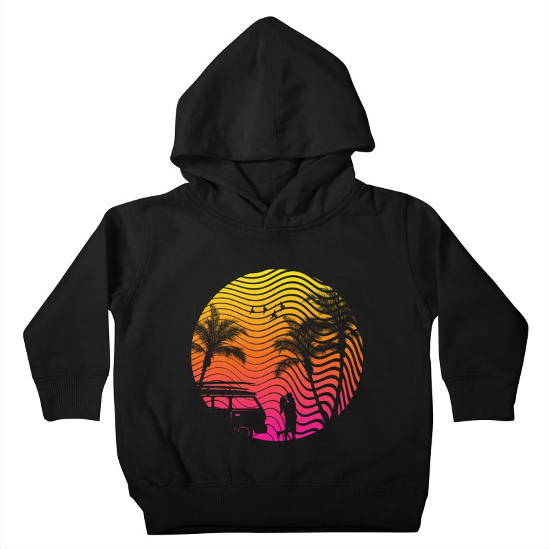 Summer Love Kids Toddler Pullover Hoody by mateusquandt's Artist Shop