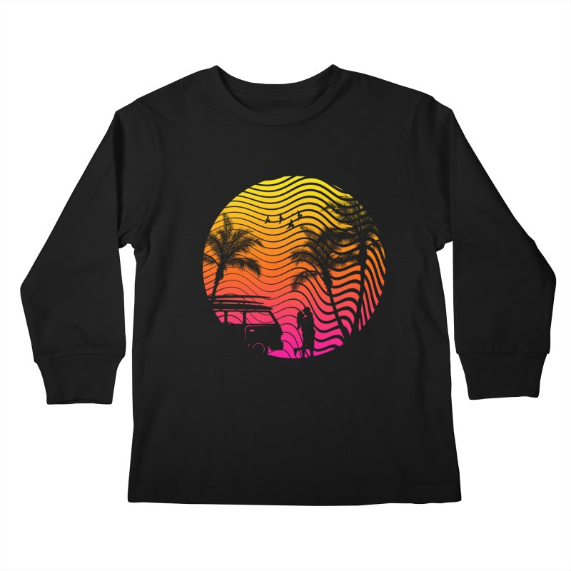 Summer Love Kids Longsleeve T-Shirt by mateusquandt's Artist Shop