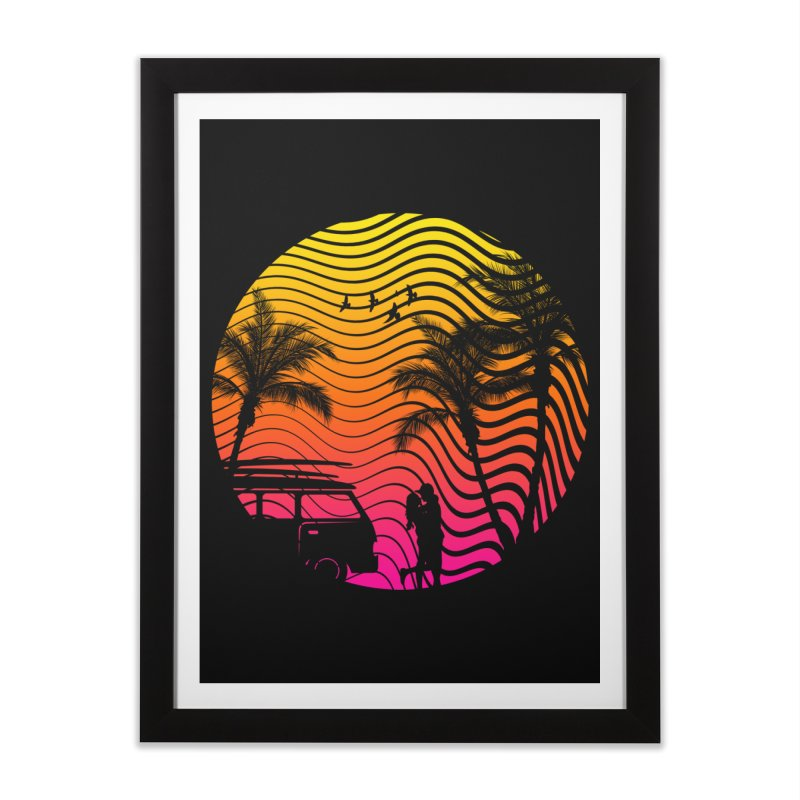 Summer Love Home Framed Fine Art Print by mateusquandt's Artist Shop