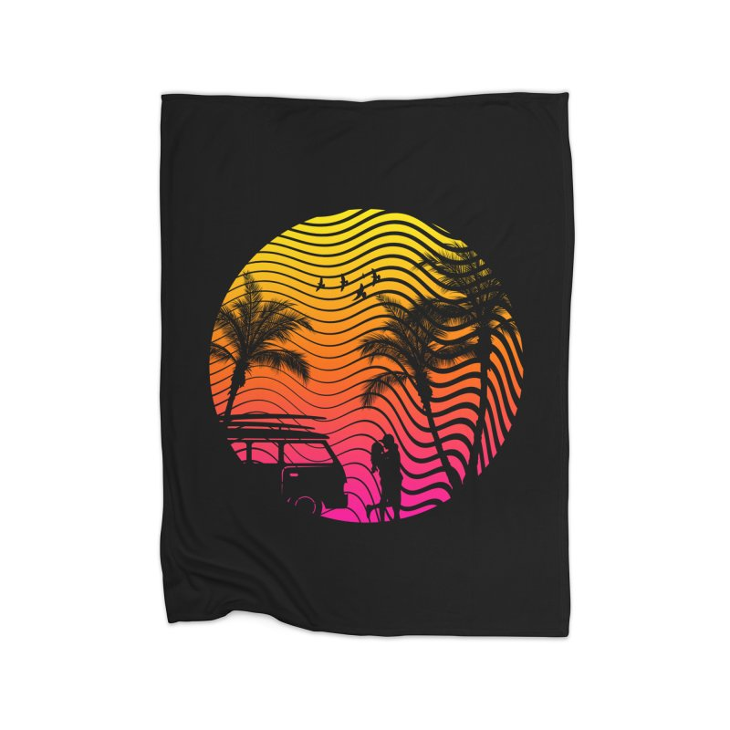 Summer Love Home Blanket by mateusquandt's Artist Shop