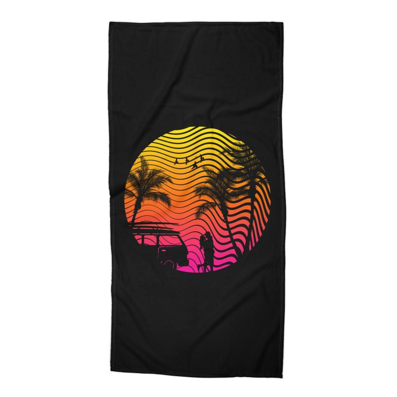 Summer Love Accessories Beach Towel by mateusquandt's Artist Shop