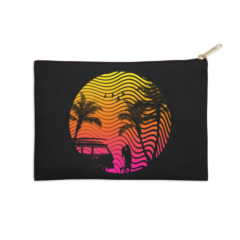 Summer Love Accessories Zip Pouch by mateusquandt's Artist Shop