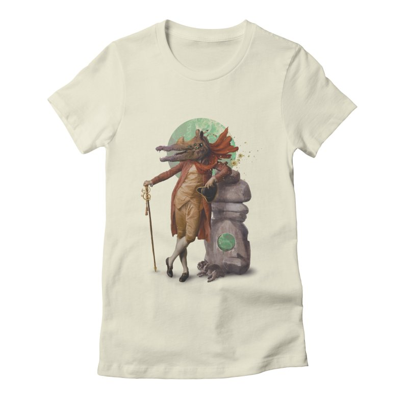 I'm My Own Power-Animal Women's Fitted T-Shirt by Mathijs Vissers