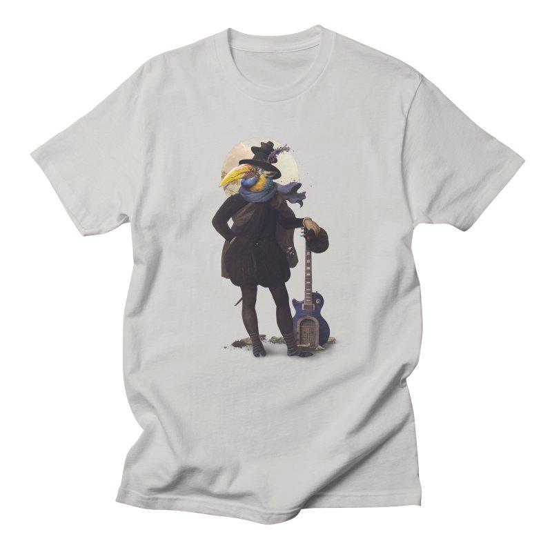 Bird of the Street Men's T-shirt by Mathijs Vissers
