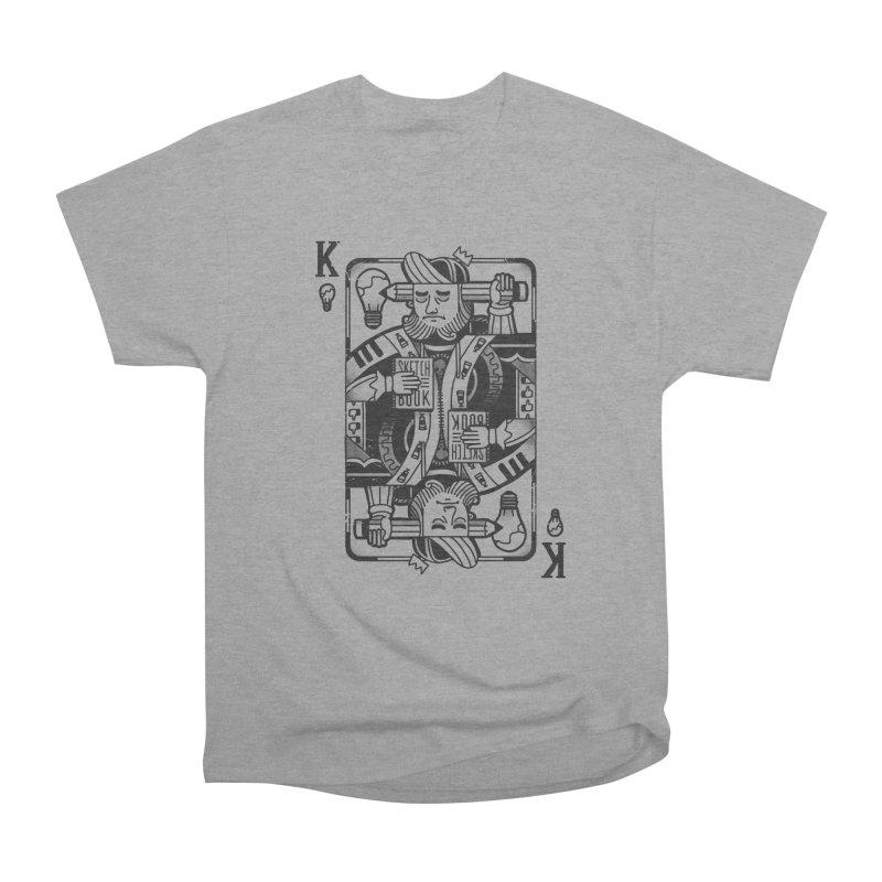 Artists Block Men's Heavyweight T-Shirt by Mathijs Vissers