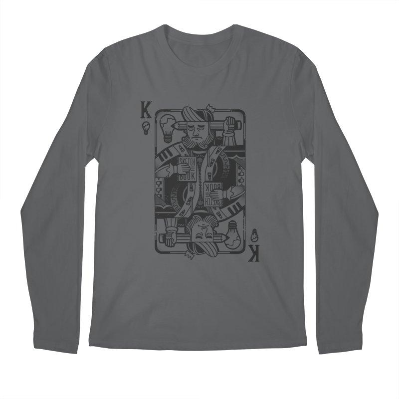Artists Block Men's Longsleeve T-Shirt by Mathijs Vissers