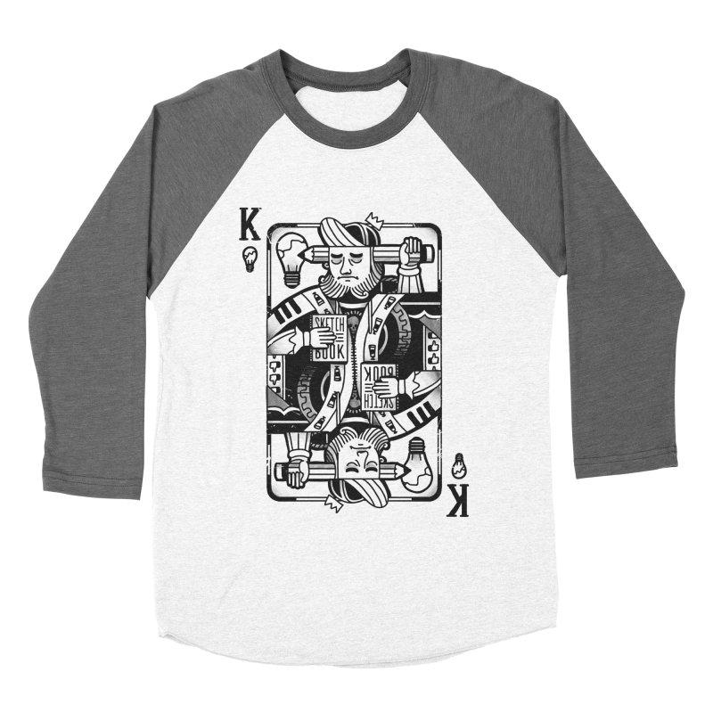 Artists Block Women's Baseball Triblend T-Shirt by Mathijs Vissers