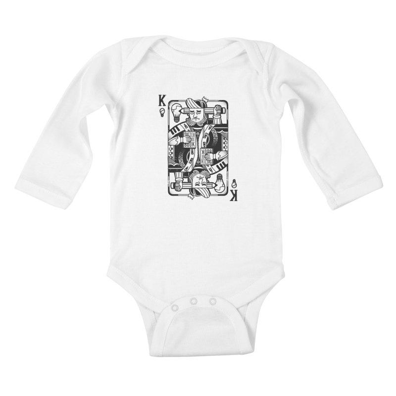 Artists Block Kids Baby Longsleeve Bodysuit by Mathijs Vissers