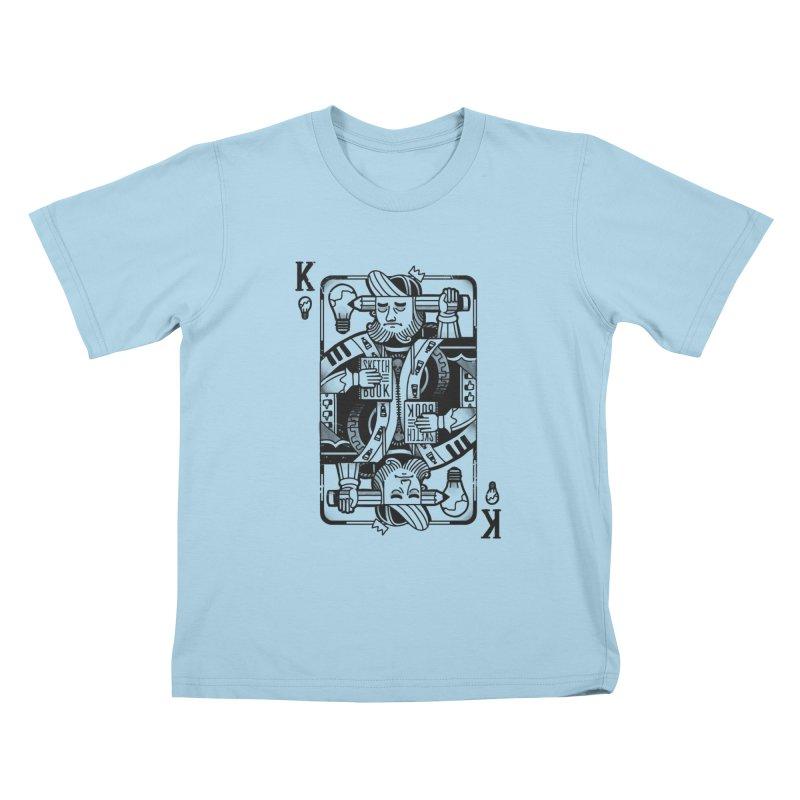 Artists Block Kids T-Shirt by Mathijs Vissers