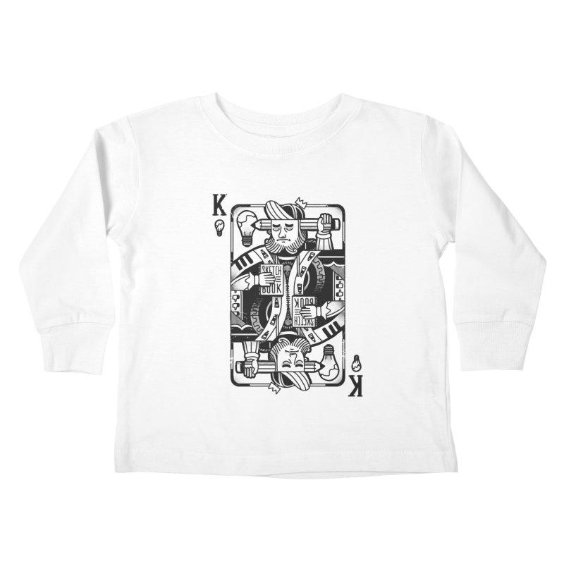 Artists Block Kids Toddler Longsleeve T-Shirt by Mathijs Vissers
