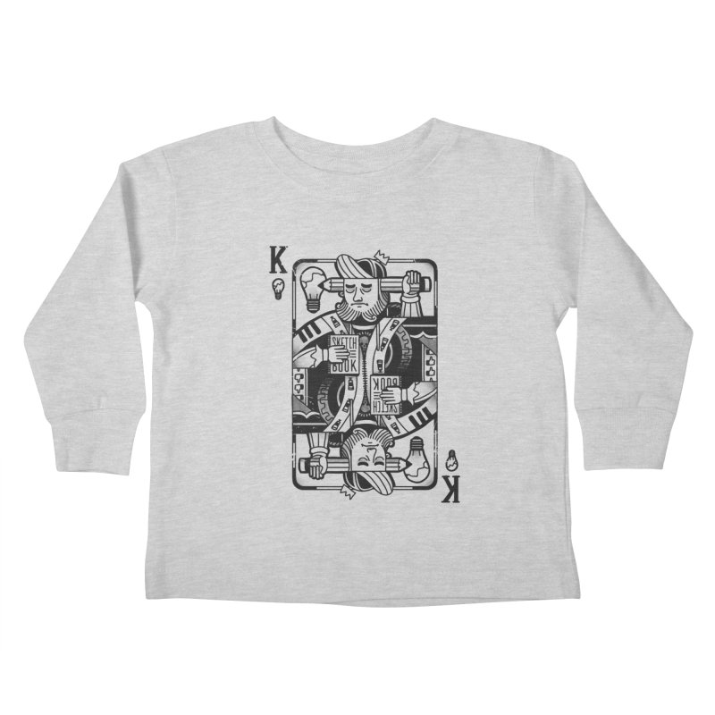 Artists Block Kids Toddler Longsleeve T-Shirt by Mathijs Vissers