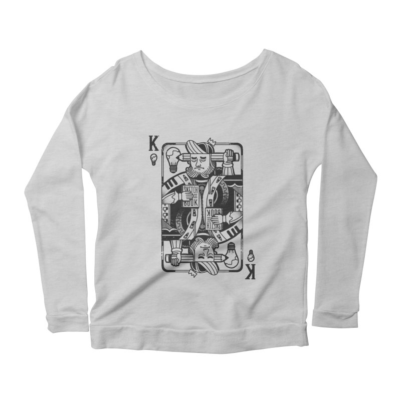 Artists Block Women's Longsleeve Scoopneck  by Mathijs Vissers