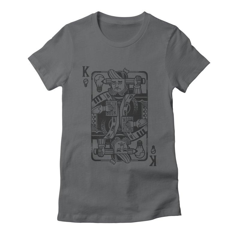 Artists Block Women's Fitted T-Shirt by Mathijs Vissers